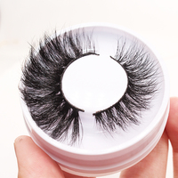 Worldbeauty long mink lashes 25mm high quality 3d mink eyelash real siberian mink eyelashes