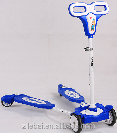 Fashion design Best choice Lebei kids playing toy with varity of colors children kick tri scooter