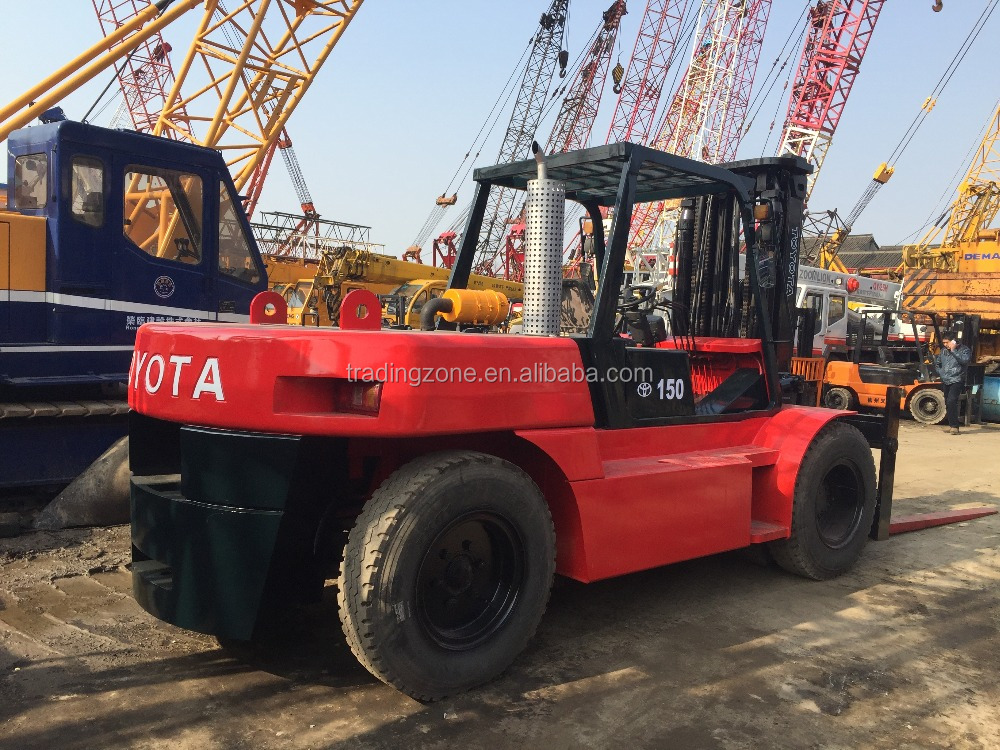 Used 15 ton Toyota 7FD150-Heavy-duty Forklift Truck for sale, Toyota Handling Tuck 15 ton , original from Japan