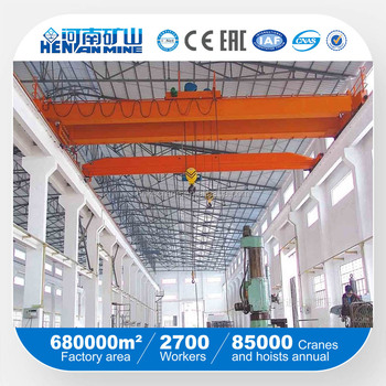 Henan Mine 20t bridge crane price/20t bridge crane with hoist/LH overhead crane