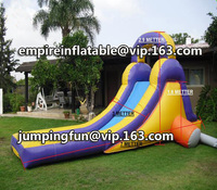 outdoor home use mini inflatable pool slide for children ID-SLS060