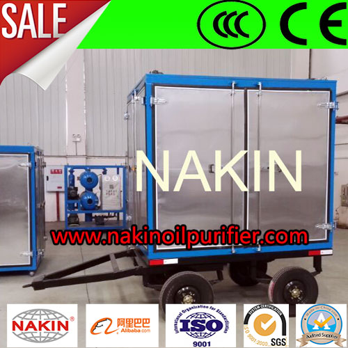 Closed Mobile Type Transformer Oil Recycling Machine/Oil Reclamation Plant/Transformer Oil Condition System