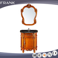 Frank laundry sink tub stainless steel corner bathroom cabinet with wash basin