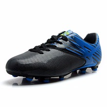 Tiebao Boys Men's Anti-skid Spike Cool Firm Ground Profession Soccer Training Shoes