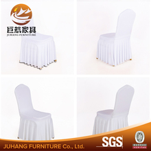 Manufacturer Banquet Ruffled Spandex Chair Cover for Wedding