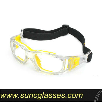 basketball dribble glasses with adjustable strap