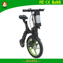 NEW 2017 Patent off road foldable electric scooter 250w e bike