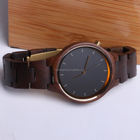 wholesale mens wood watches with custom logo 2016