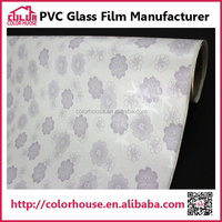 pvc flexible plastic window self cling film