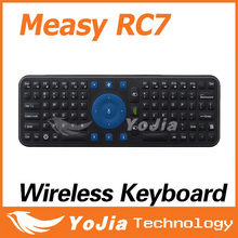 Original Measy RC7 Smart Remote 2.4GHz USB Wireless Keyboard Gyroscope Air Fly Mouse