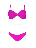 2015 wholesales new hot sexy girl bikini customized swimwear