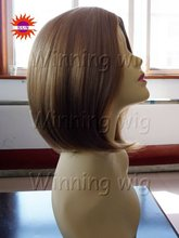 bob style colored hair extensions glueless full lace wig with swiss lace