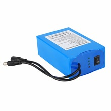 Rechargeable DC 12v 18ah lithium battery for LED light /panel /strip, CCTV Camera, Router, Amplifier
