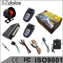 best alarming bell voice car alarm system with remote controller fsk fucntion