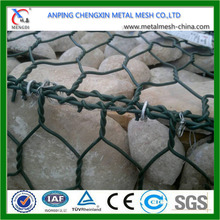 heavy pvc coated green color 3*1*1m gabion box