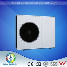 EVI monoblock 10kw 220v evi heat pump air to water for low temp -25 degree