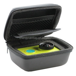 EVA Waterproof Carry Box Bag case outdoor sports For Xiaomi Yi Camera black