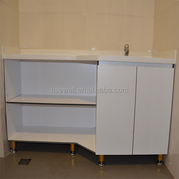 Modern colors kitchen laminate cabinet