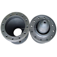 sand castings grey iron HT250 GG25 machined truck diff case