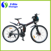 Carbon steel folding frame brushless motor mountain e bike