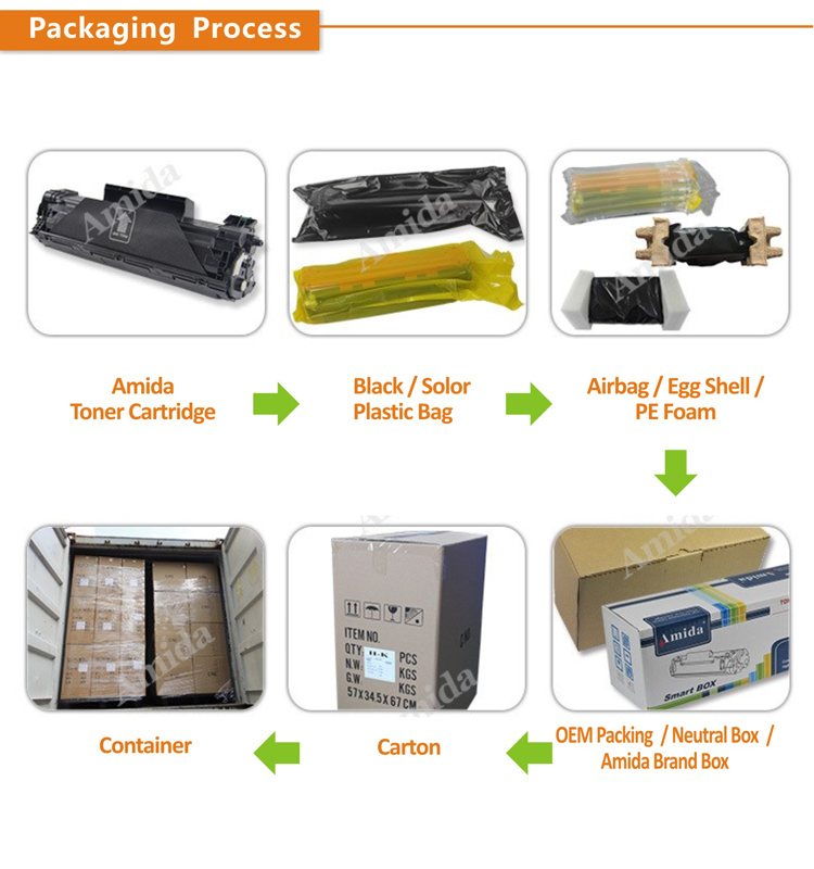Premium Quality Compatible New CF217A 17A toner cartridge for laserjet M102