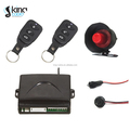 China OEM 12V one way car alarm without engine off relay and shock sensor