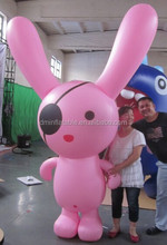 10 Foot Happy Easter Bunny Airblown Inflatable