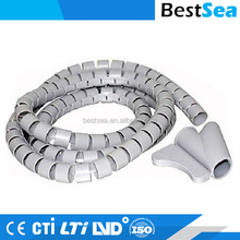 Rubber cable protector flexible, useful cable protection hose
