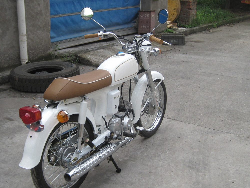 classic 70CC motorcycle
