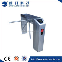 High quality Manual Resetting Bridge Round Angle Tripod turnstiles with CE