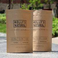 new design kraft paper coffee bag with window / music paper bag