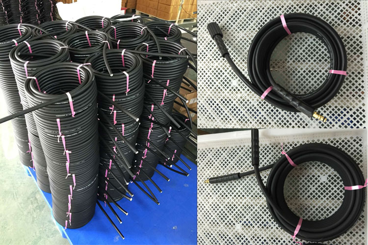PVC Smooth Soft Cover Pressure Washer Water Spray Hose