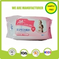 Alcohol free soft skin care baby facial wet wipes whholesale,baby care wipes,baby product