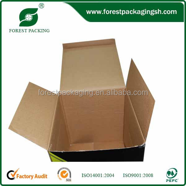 High quality various style hot sell corrugated boxes