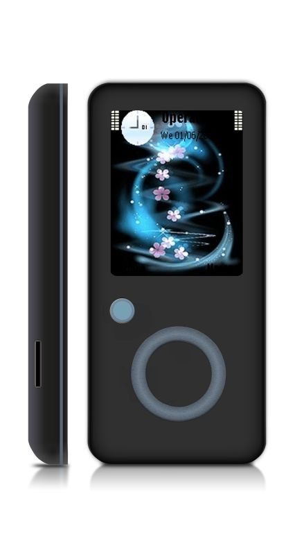 Cheap 1.8 Inch MP4 Player 8GB Memory Support FM,ebook,voice recording