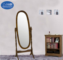 1312 Attractive modern concise European style wood frames decorative mirror price per square meter