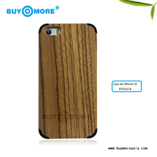 cellphone accessories bamboo protector case magnetic top for case for iphone 5s