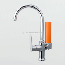 High Pure Copper Faucet Tap Hot/Cold Water and Water Filter 3 in 1 Disposable Cartridge and Activated Carbon HFM