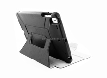 EVA foam and leather hybird combo case for iPad 2017 New iPad
