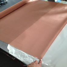 SGS Factory Kangshuo150 Mesh 100 Micron Emf Shielding Copper Mesh Fabric Clothing