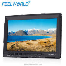 7inch monitor with sunshade F970 battery plate hdmi video audio FW759