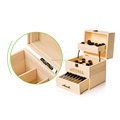 3 Layer Wooden Doterra Oil Storage Box Essential Oil Holder Boxes