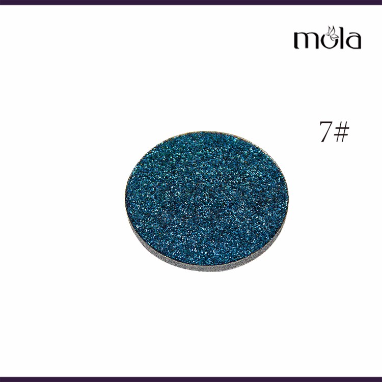 Hot selling single eyeshadow glitter eyeshadow cosmetics pressed glitter eyeshadow