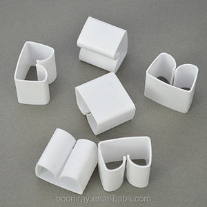 Office plastic locking cable clip wiring clips self adhesive home decoration PVC cable clips