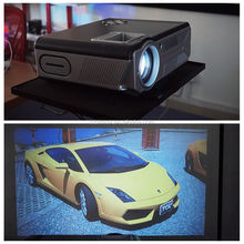 New launch SD200 high lumens multimedia video proyector smallest 5.8 inch LCD home theater LED projector