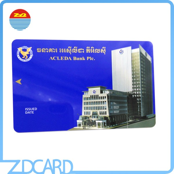 Cr80 Plastic Contactless Smart EM4305 Chip Cards