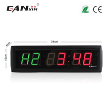 [Ganxin]High Quality 1.8'' Led Screen Fitness Timer Display in H1 /H2 HH:MM Format