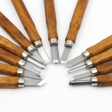 12 Pcs Wood Cut Knife Wood Carving Tools for Woodworking