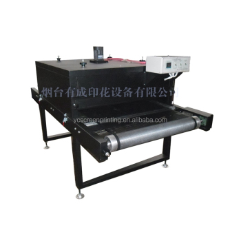 Conveyor Oven drying for any Screen printing ink