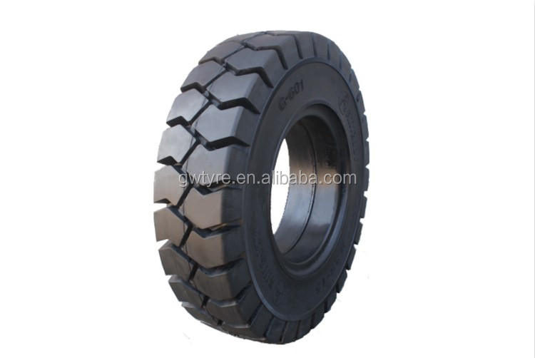 5.00-8 Solid Tire Standard Rim 3.00D Forklift Solid Tire Good Price